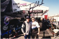 Tony Schumacher and me
