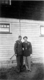 walt and hal bruchhauser after the war