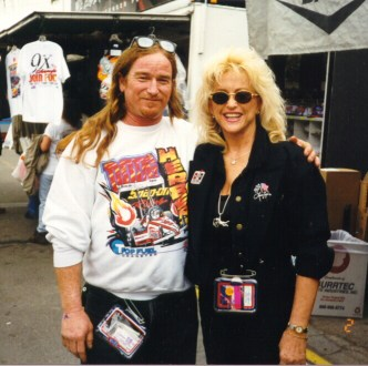 Linda Vaughn and Rick Thomas